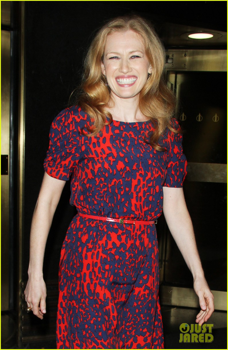 mireille enos world war z promo in new york 05