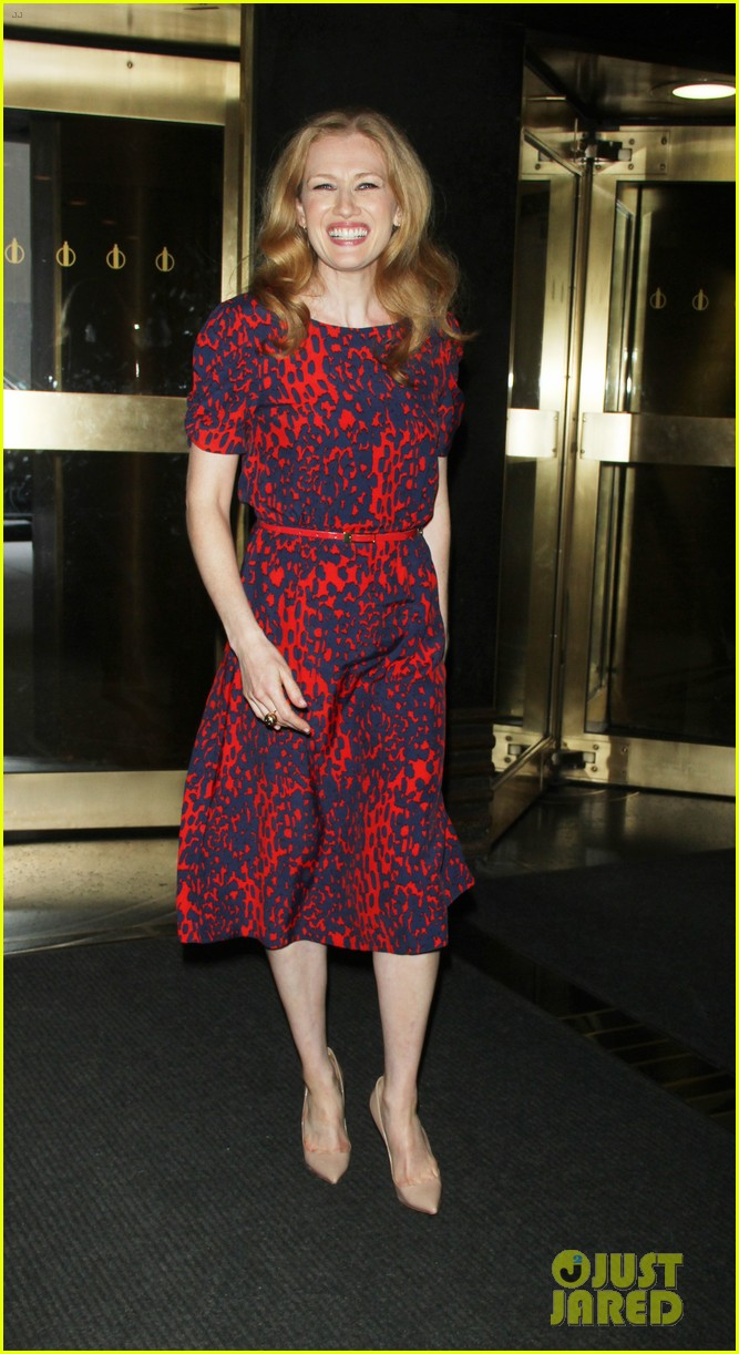 mireille enos world war z promo in new york 06