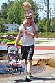eric dane push ups with daughter billie 40