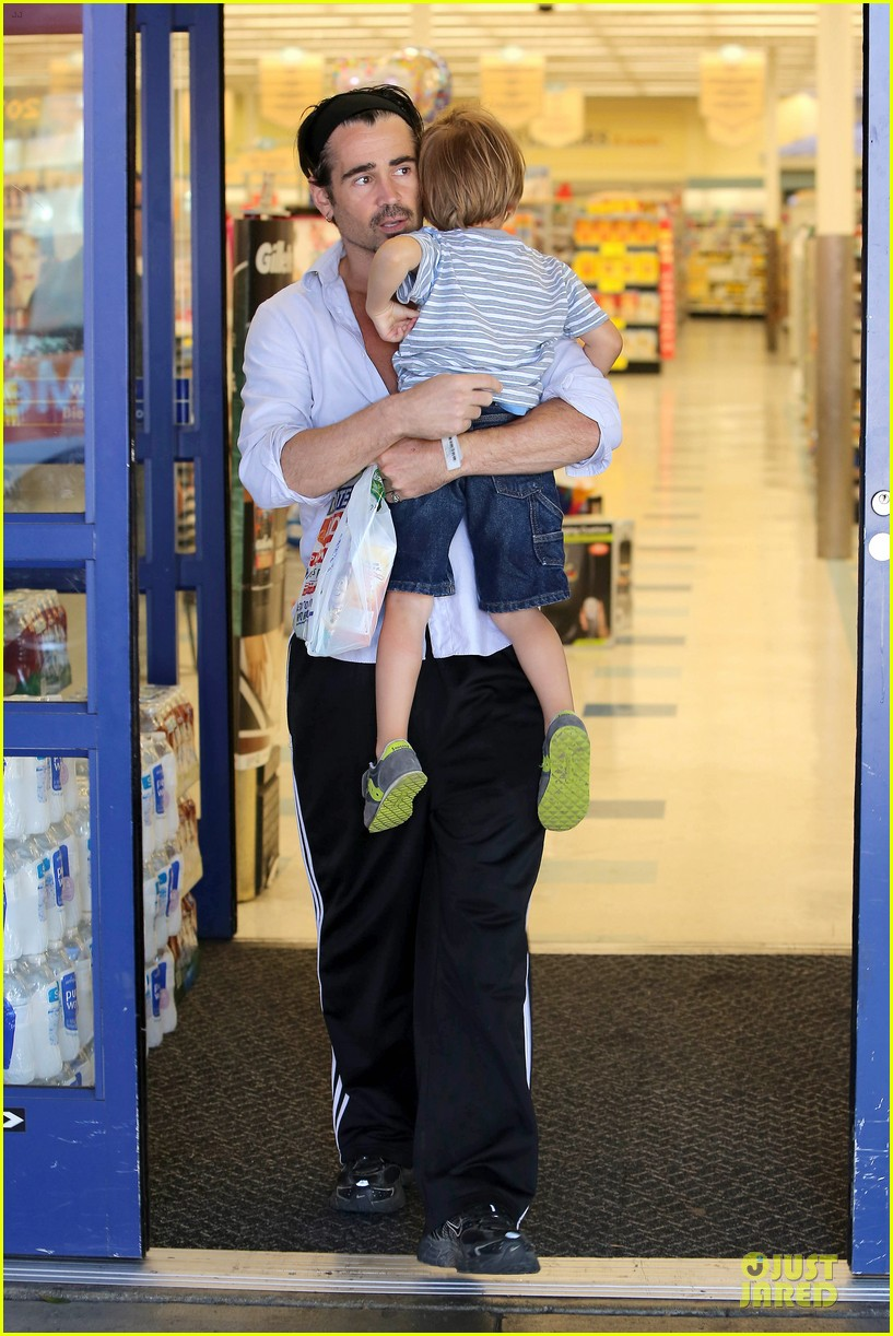 colin farrell rite aid snacks with henry 072891750