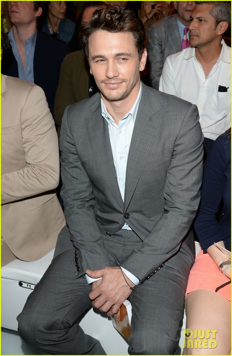 james franco gucci milan fashion show 02