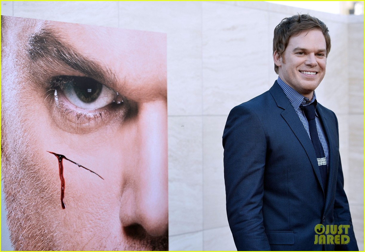 michael c hall jennifer carpenter dexter premiere 06