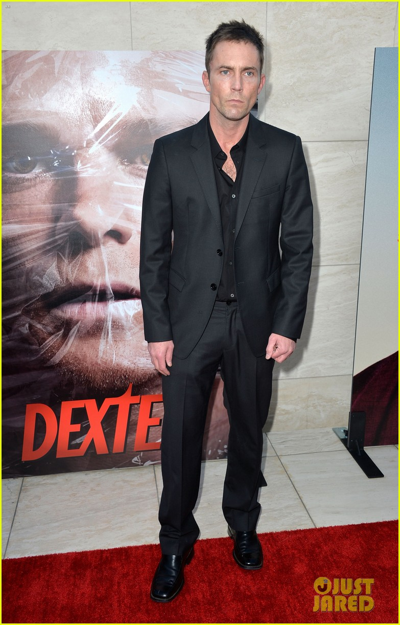 michael c hall jennifer carpenter dexter premiere 102892106