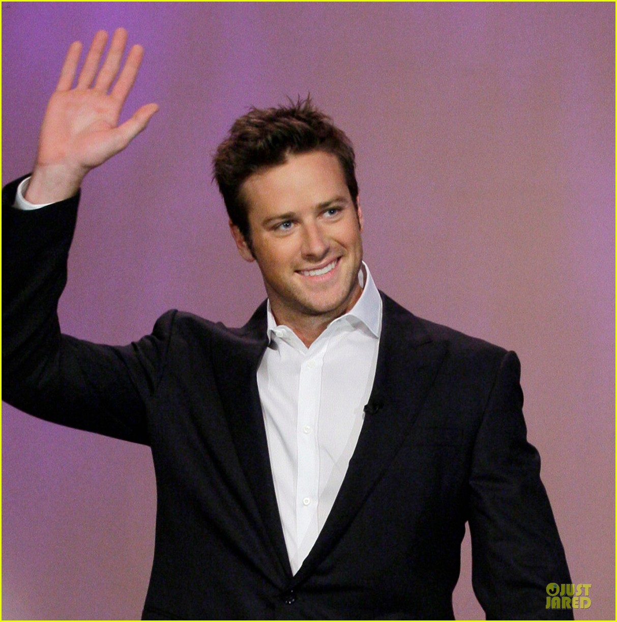 armie hammer motorcycle rider after leno appearance 02