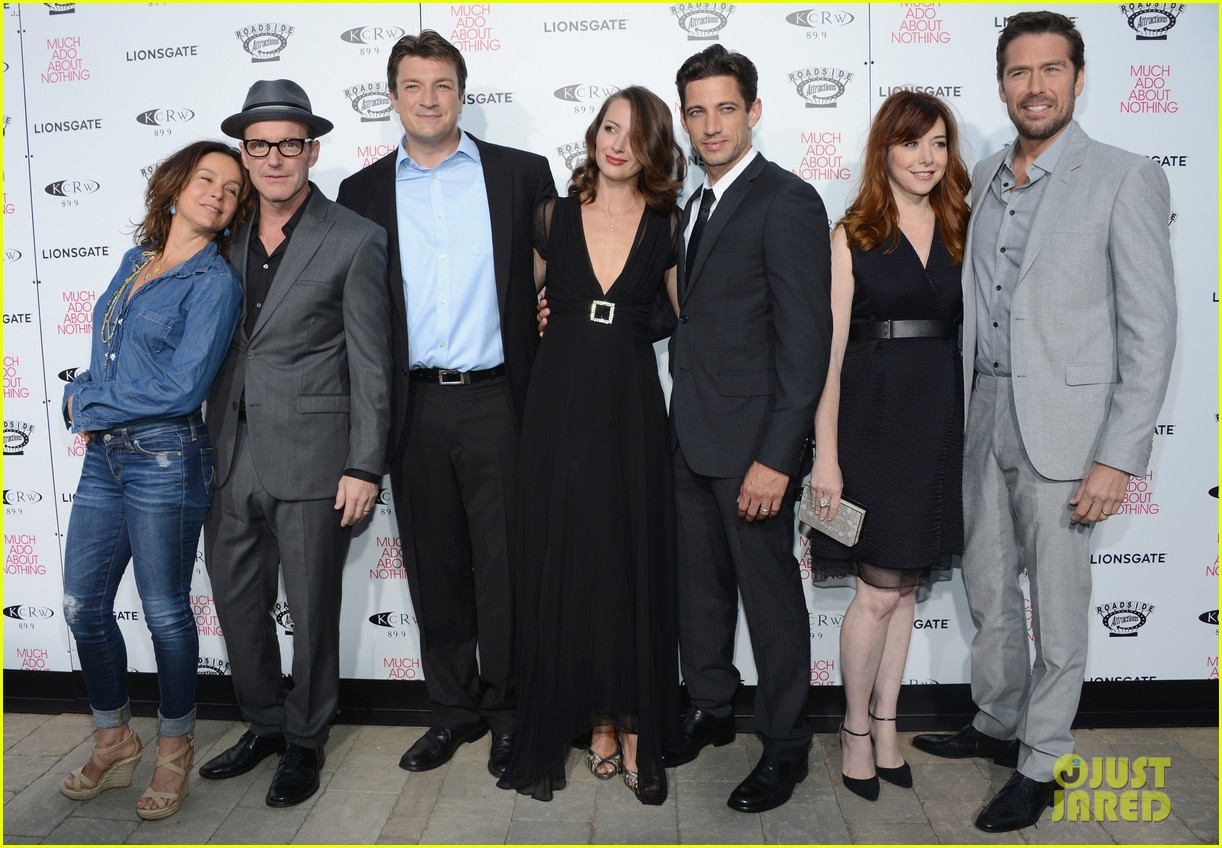 alyson hannigan nathan fillion much ado about nothing premiere 20