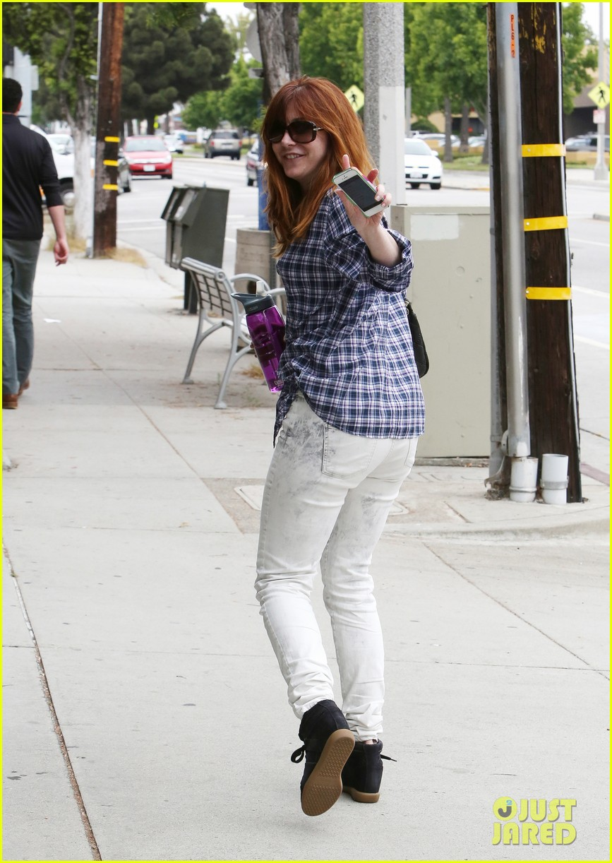 alyson hannigan girls day out with keeva 16