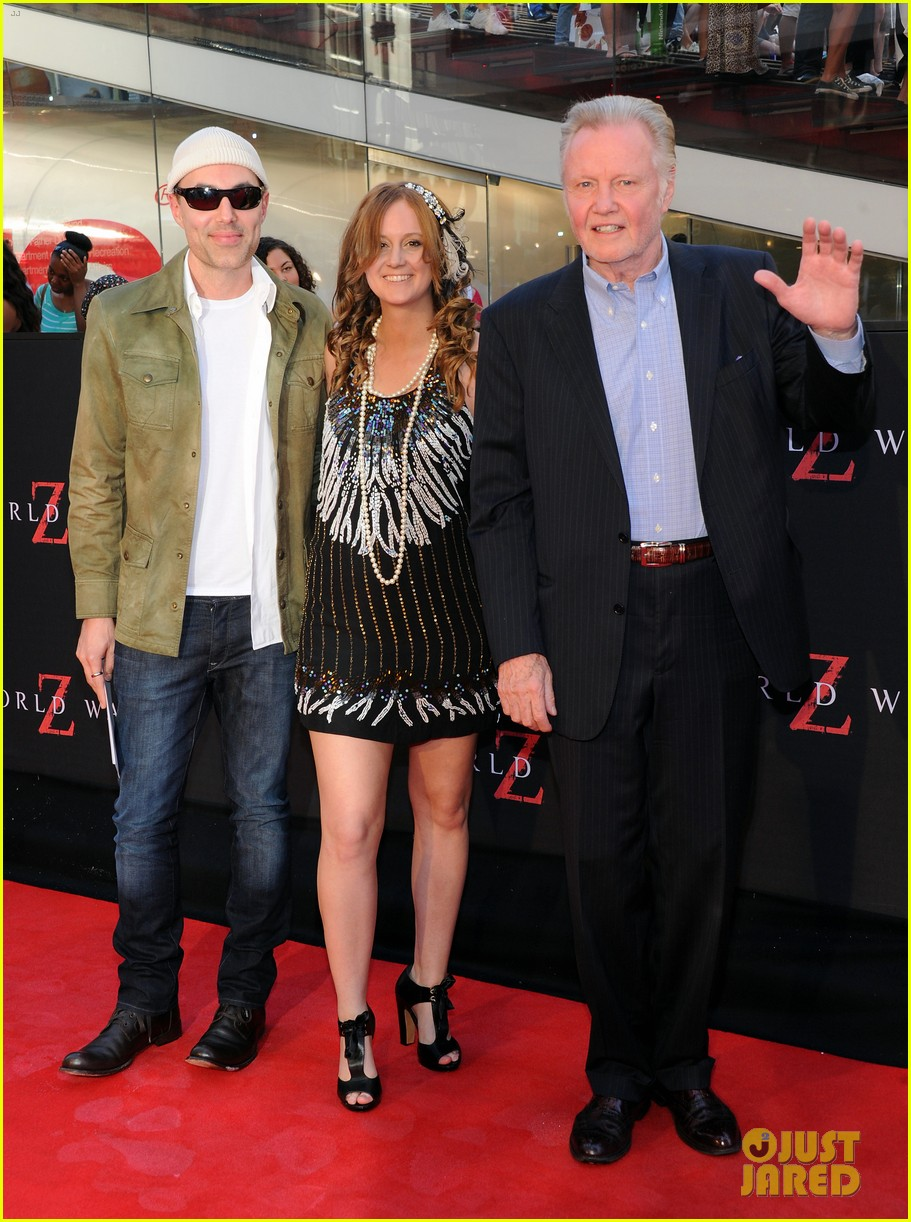 james haven jon voight world war z nyc premiere 09