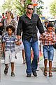 heidi klum martin kirsten take the kids to the park 04