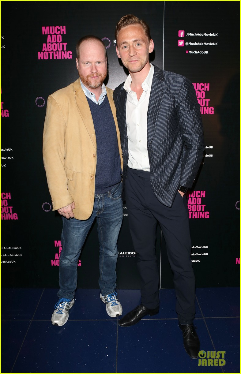 tom hiddleston supports joss whedon much ado about nothing 01