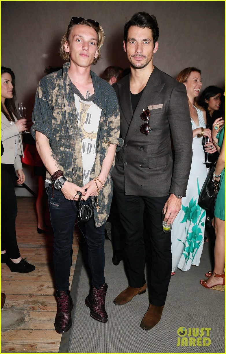 jamie campbell bower david gandy carrera ignition night 03