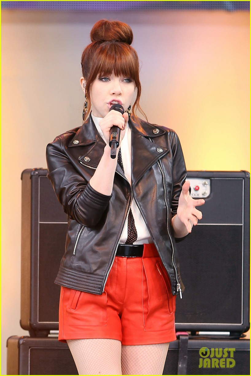 carly rae jepsen rocks good morning america 332891268