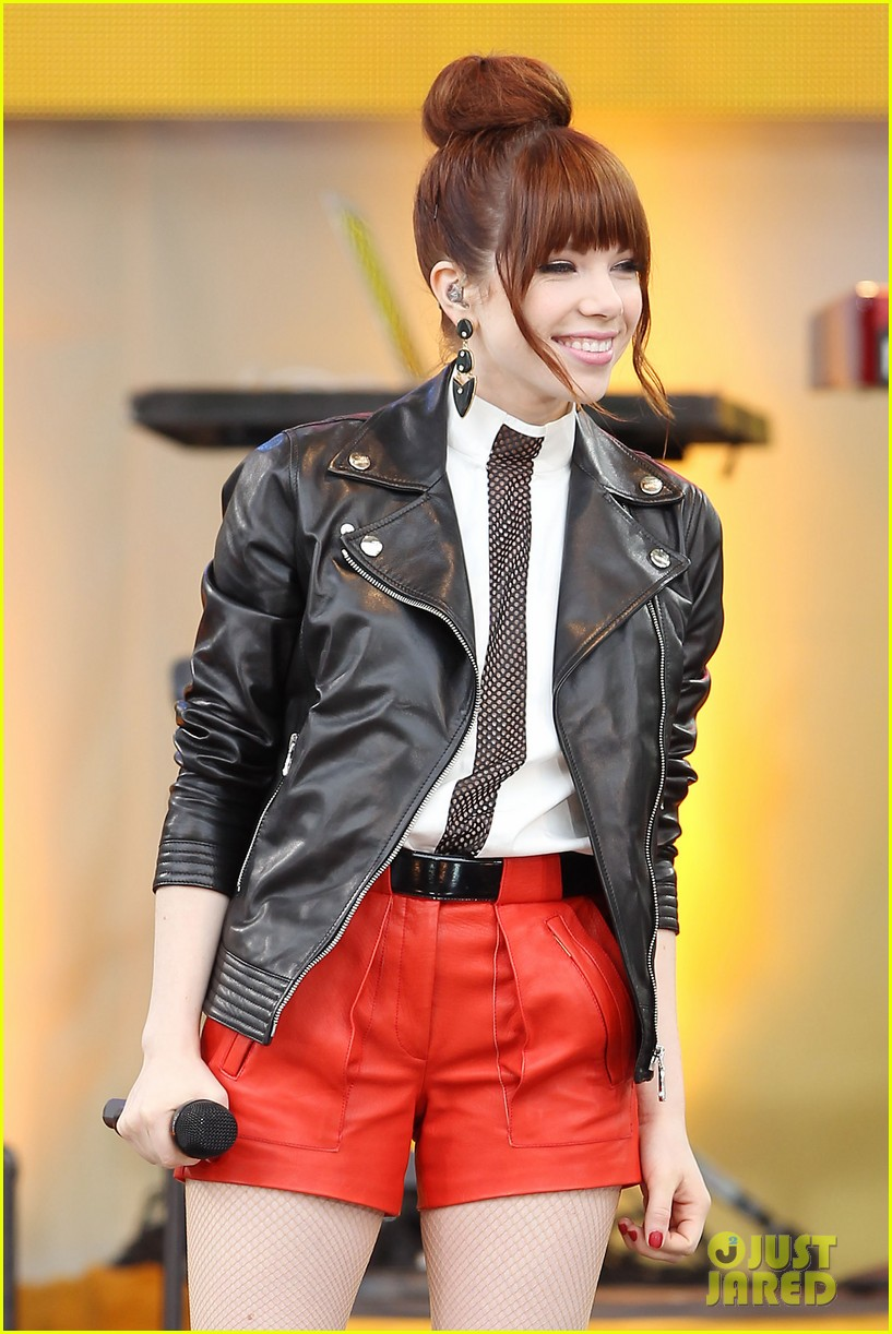 carly rae jepsen rocks good morning america 402891275