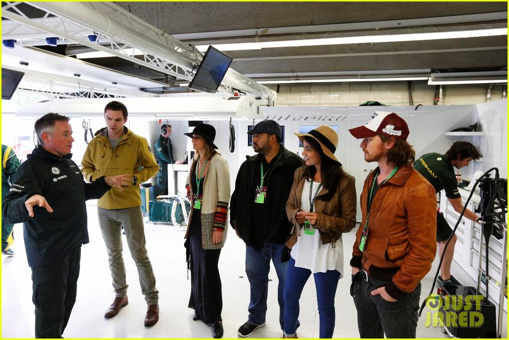 jennifer lawrence nicholas hoult canadian grand prix 012888290
