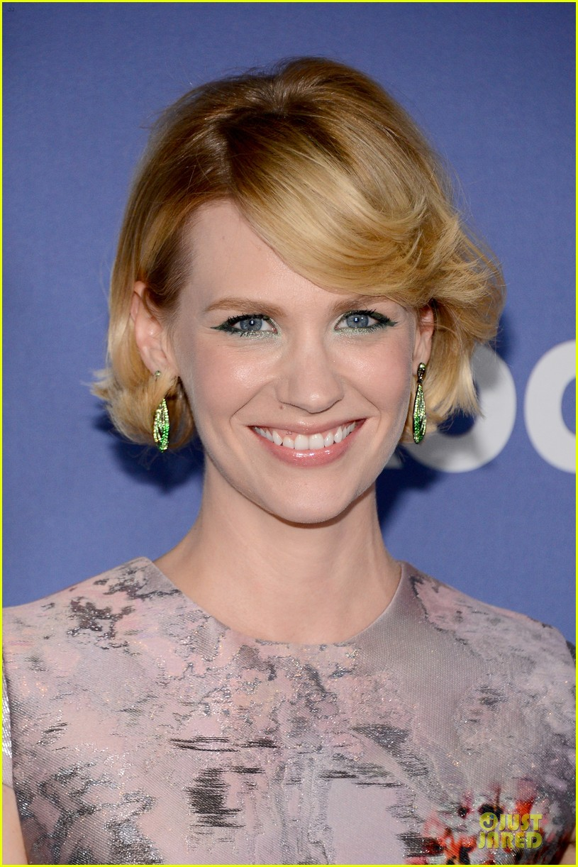 january jones elisabeth moss crystal lucy awards 2013 red carpet 11