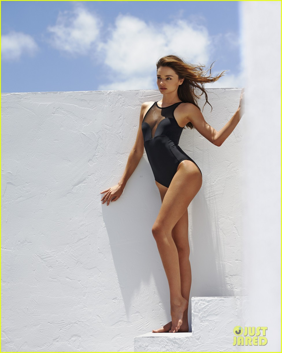 miranda kerr bikini for the edits swimwear issue 01