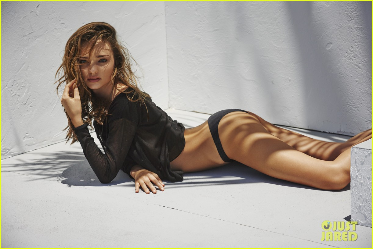 miranda kerr bikini for the edits swimwear issue 05