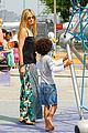 heidi klum i saved my kids hair for art projects 20