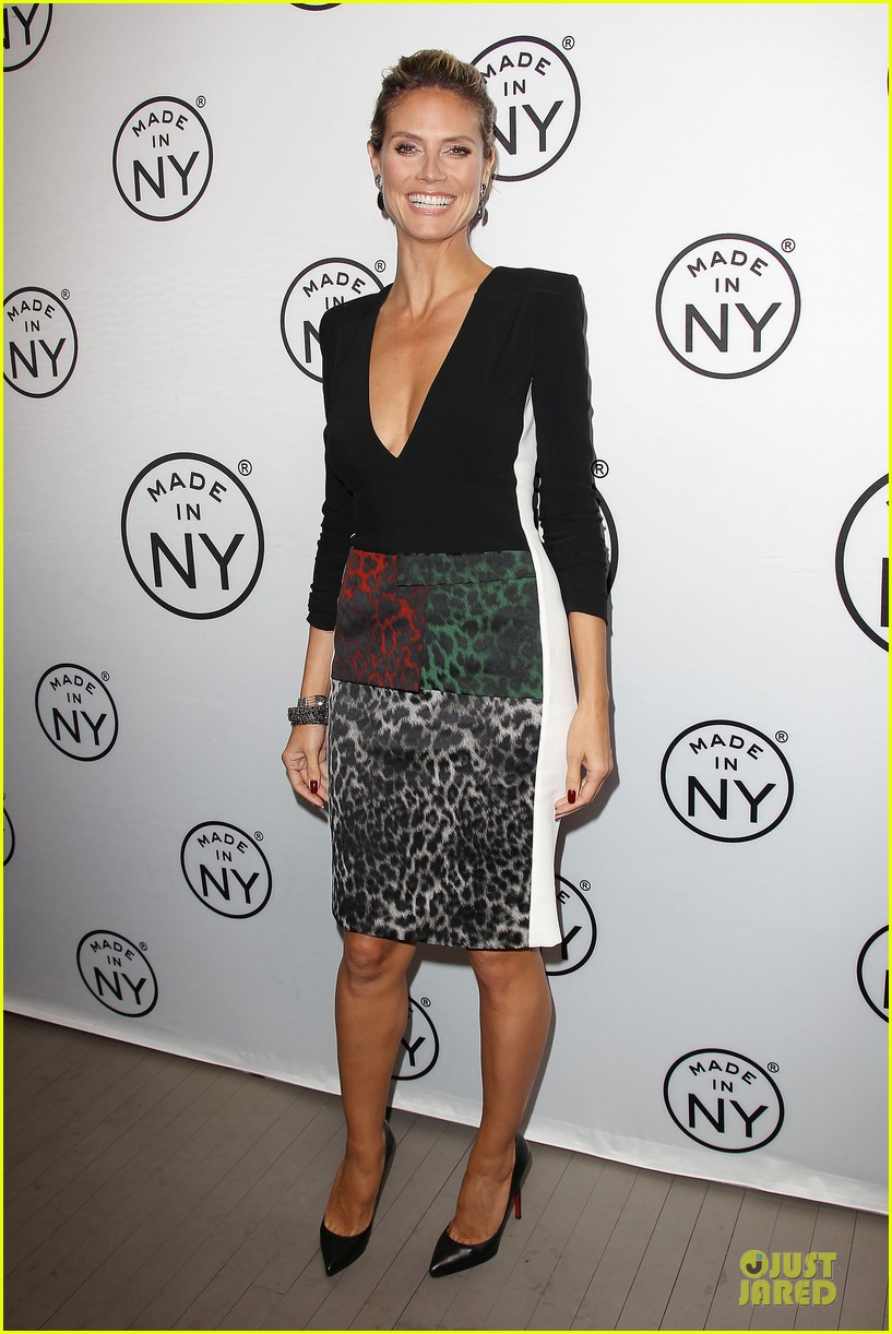 heidi klum made in ny awards honoree 21