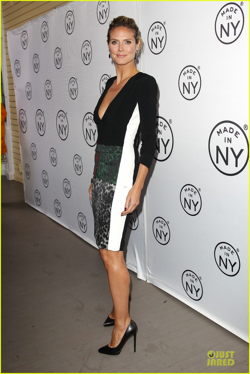 heidi klum made in ny awards honoree 272889625