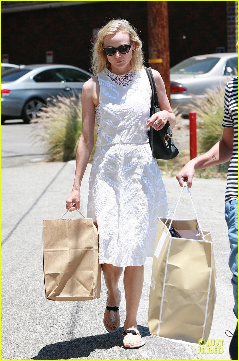 diane kruger michael kors shopping with micah schifman 01
