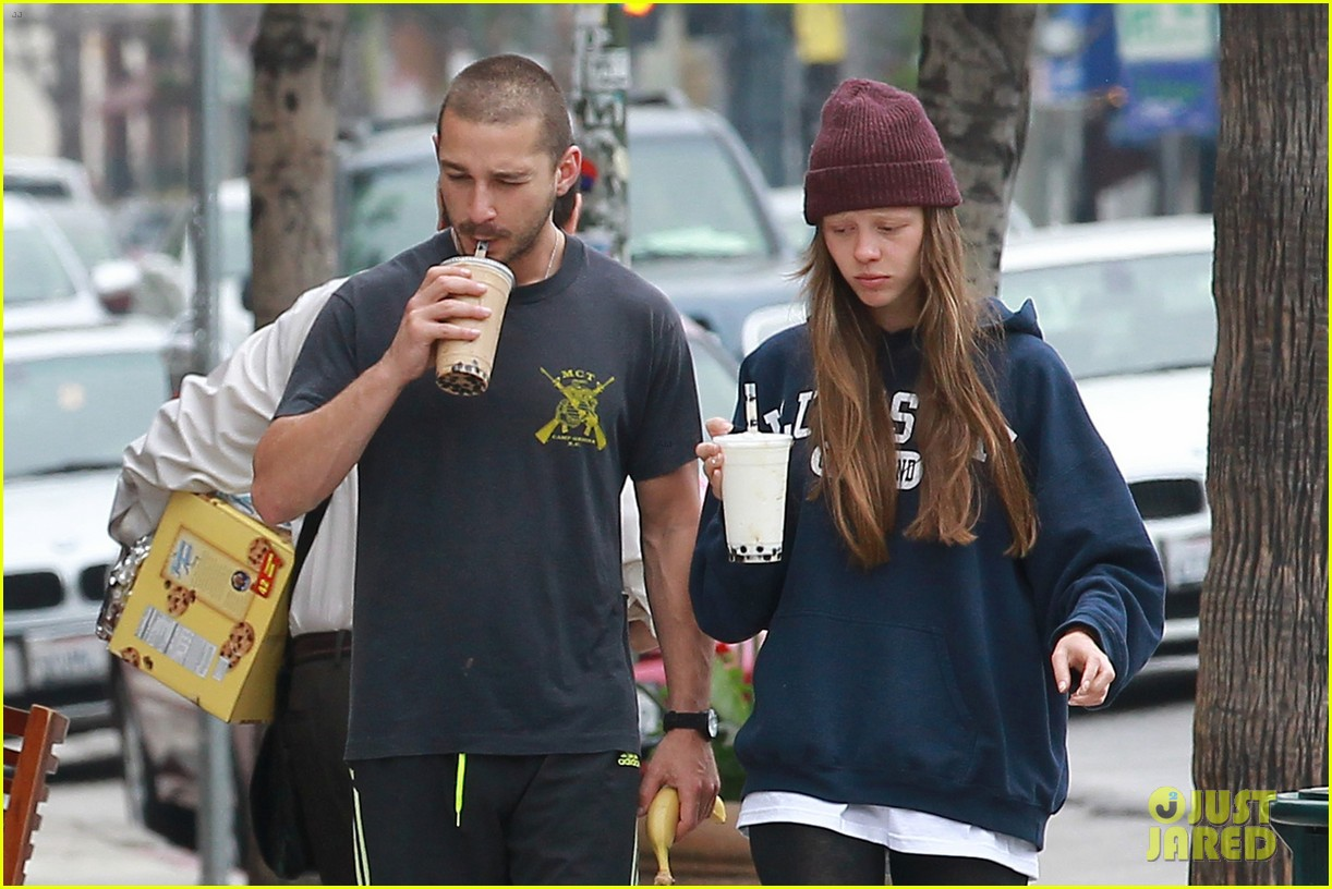 shia labeouf mia goth crave their morning coffee 042886014
