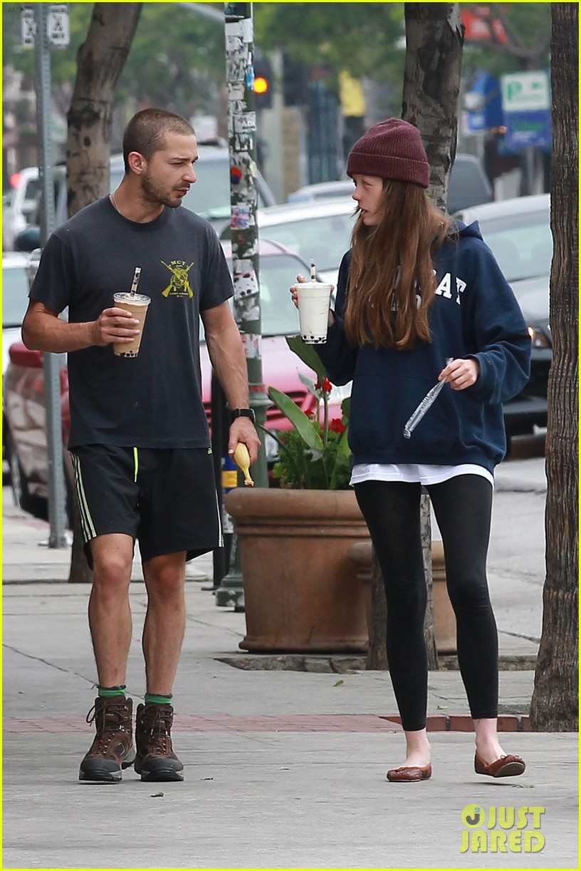 shia labeouf mia goth crave their morning coffee 052886015