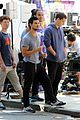 taylor lautner sweats it out for tracers in queens 08