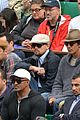 leonardo dicaprio watches french open with lukas haas 05