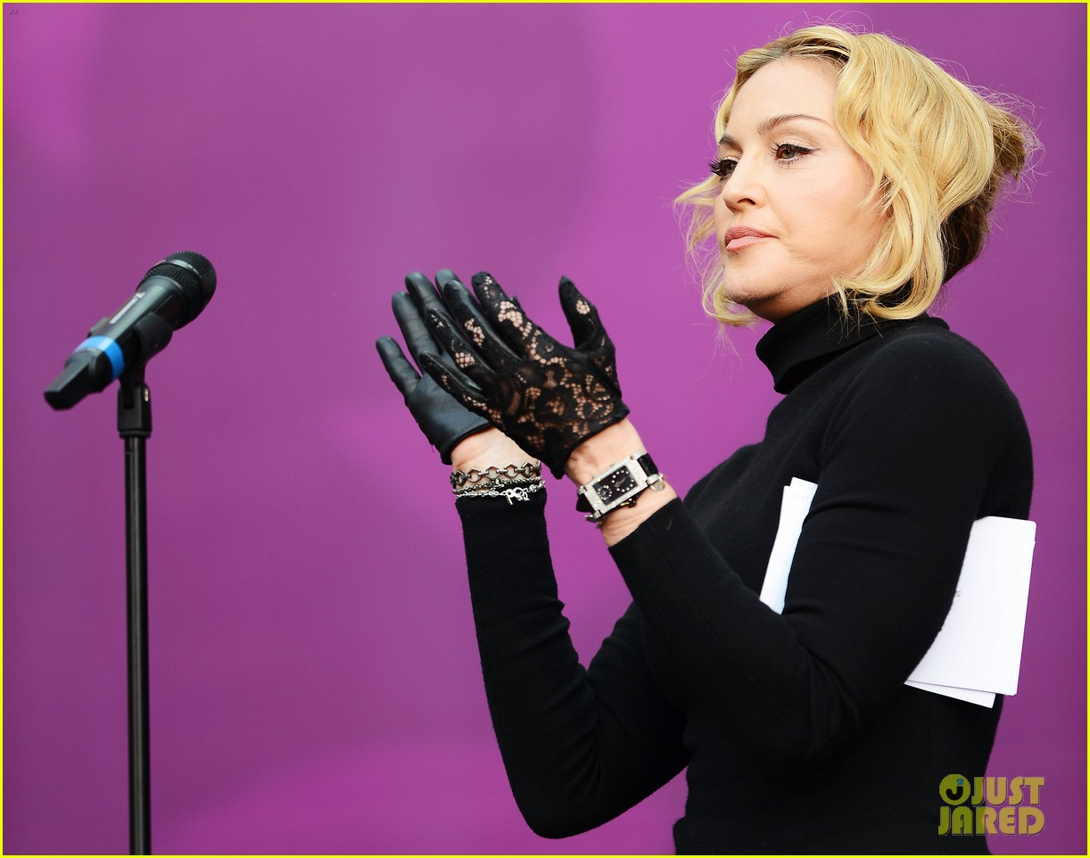 madonna speech at chime for change concert watch now 07