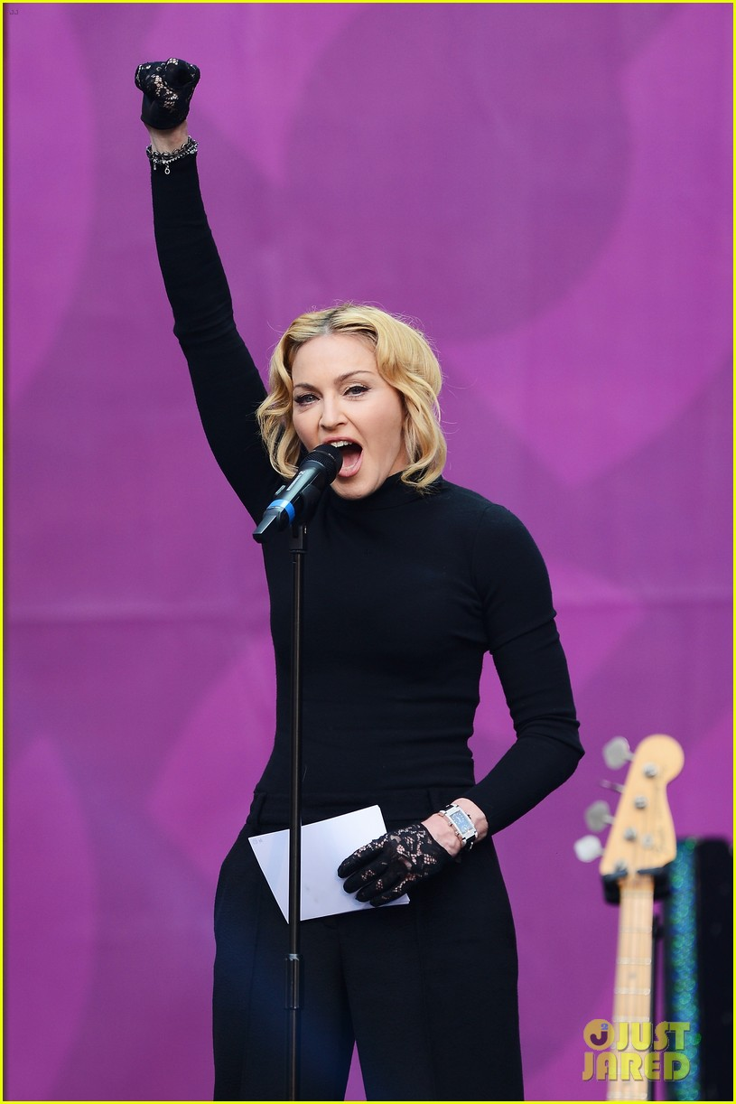 madonna speech at chime for change concert watch now 10