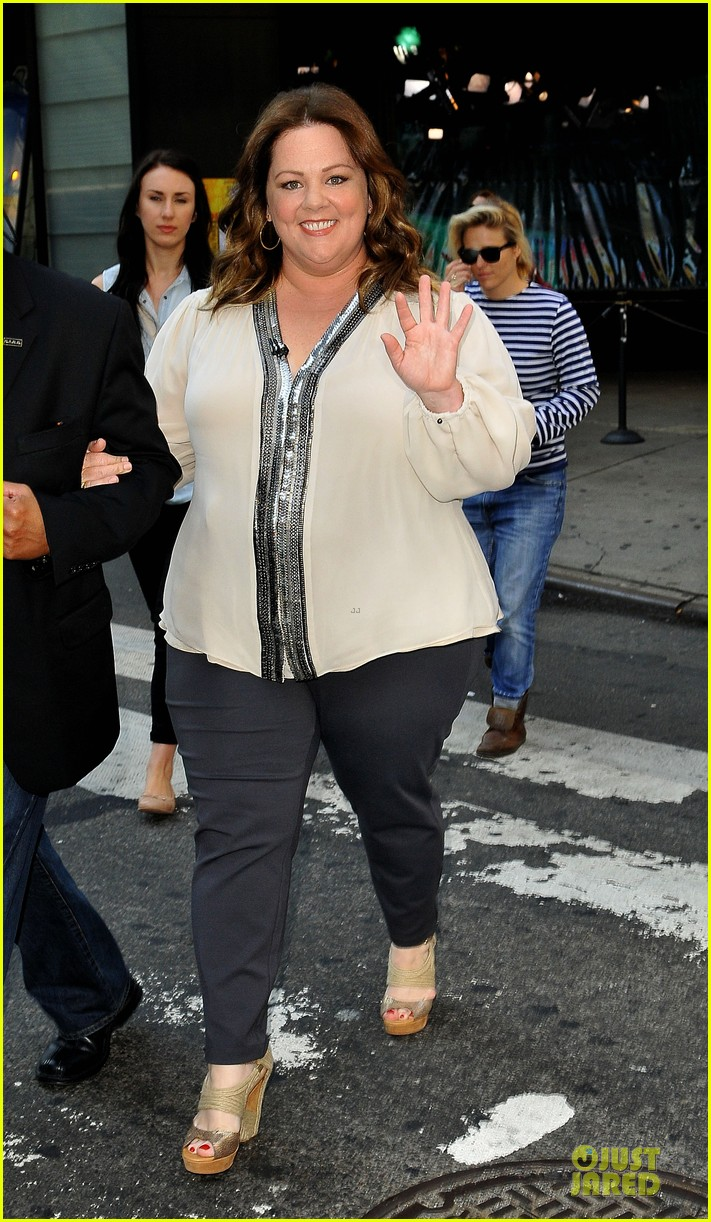 melissa mccarthy the heat nyc promotion 09