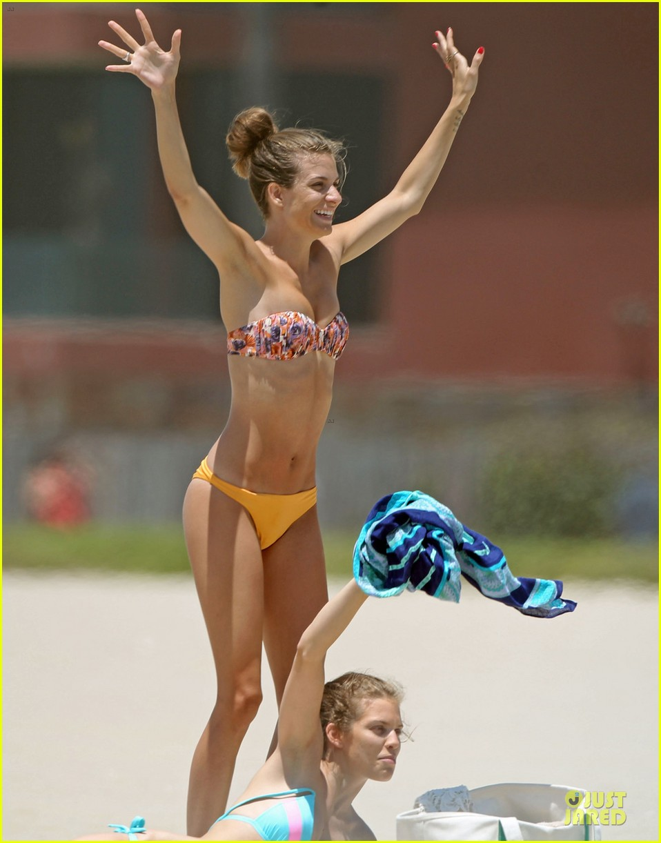 annalynne mccord bikini bonding with sisters rachel angel 042881904
