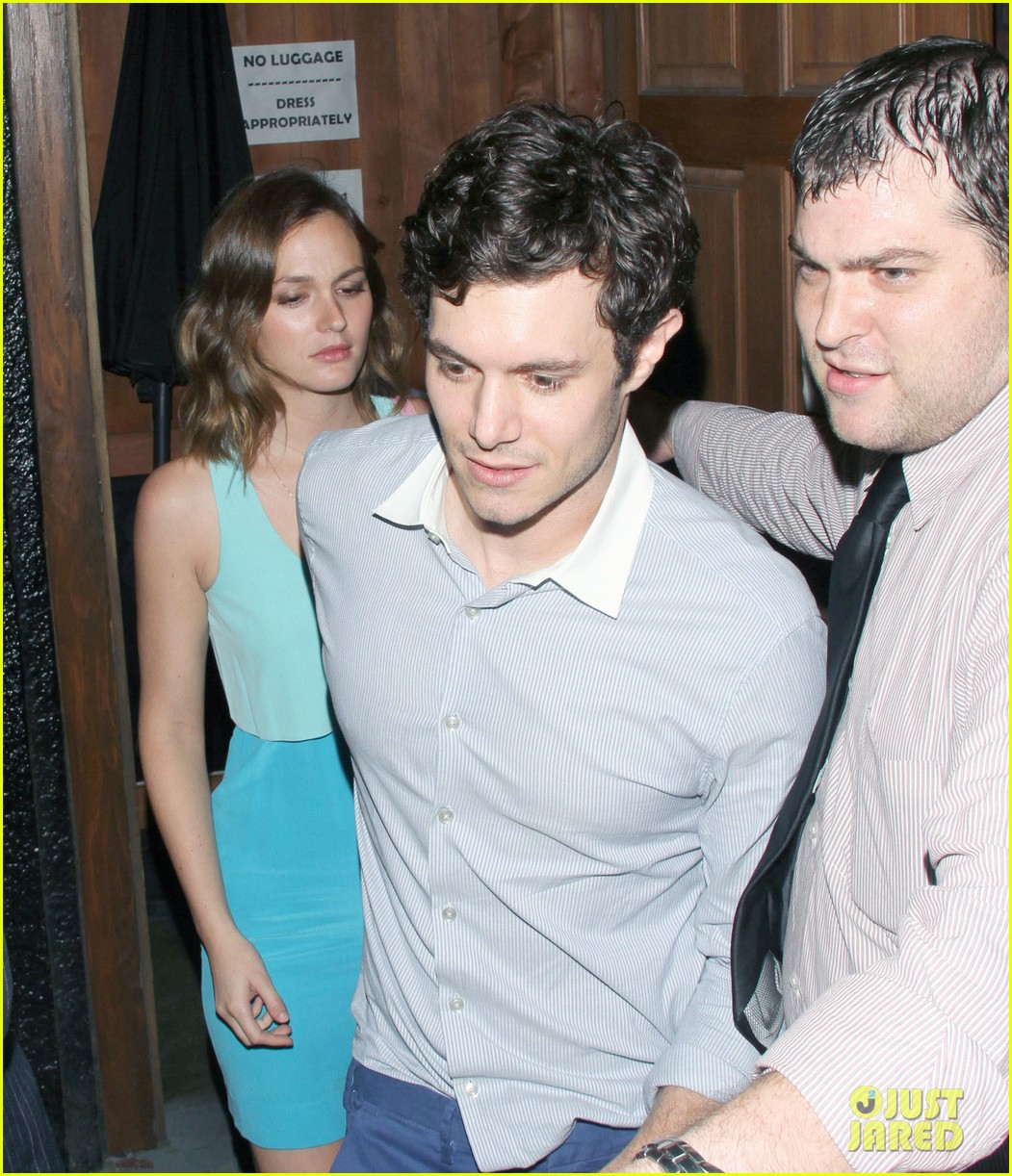 leighton meester brickyard couple after some girls premiere 03