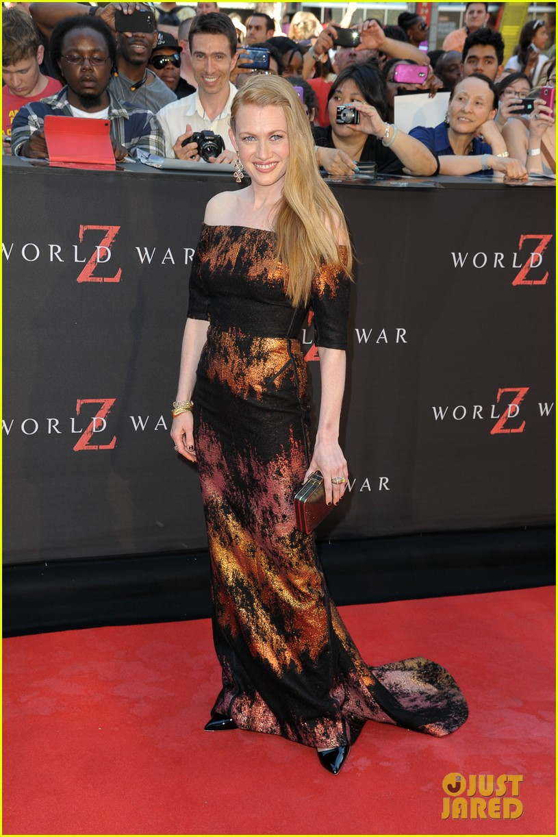 mireille enos james badge dale world war z premiere 142893226