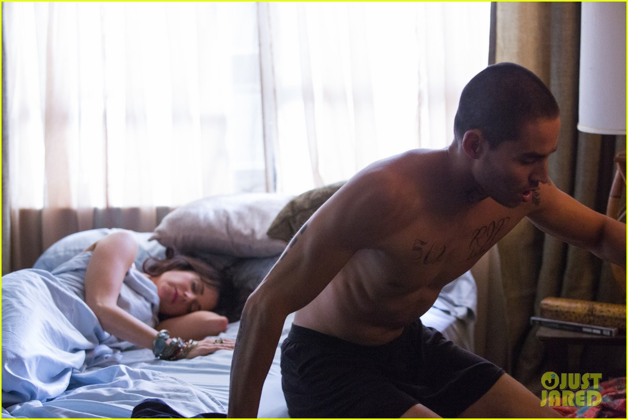 shirtless manny montana new graceland stills mia kirshner exclusive 06