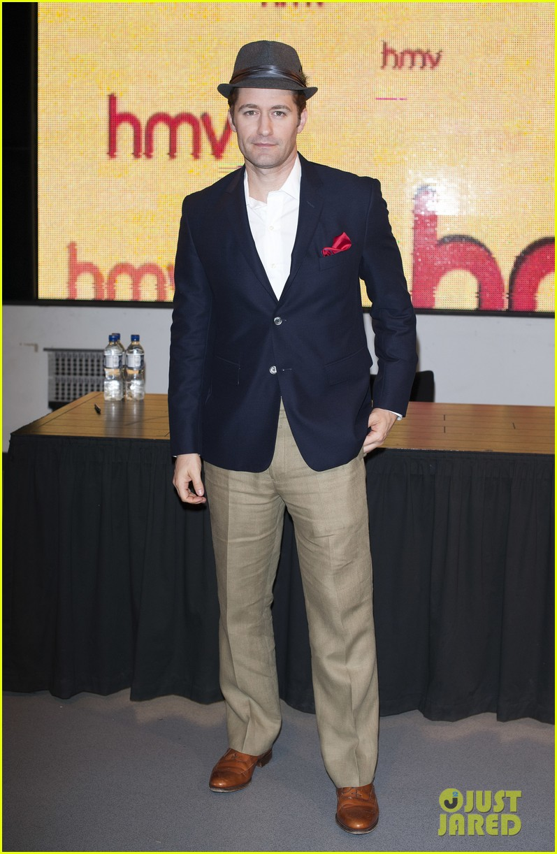 matthew morrison where it all began album promotion 032895819
