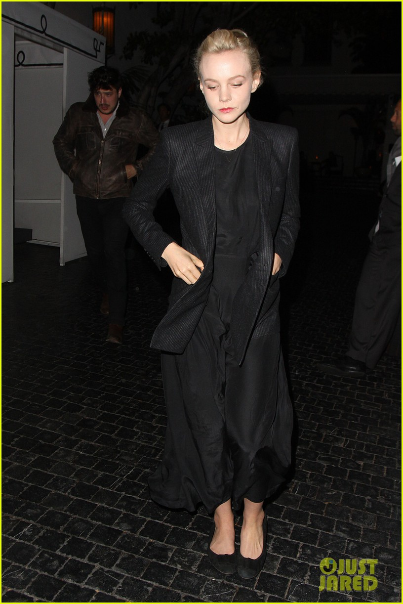 carey mulligan marmus mumford enjoy night at chateau marmont 03