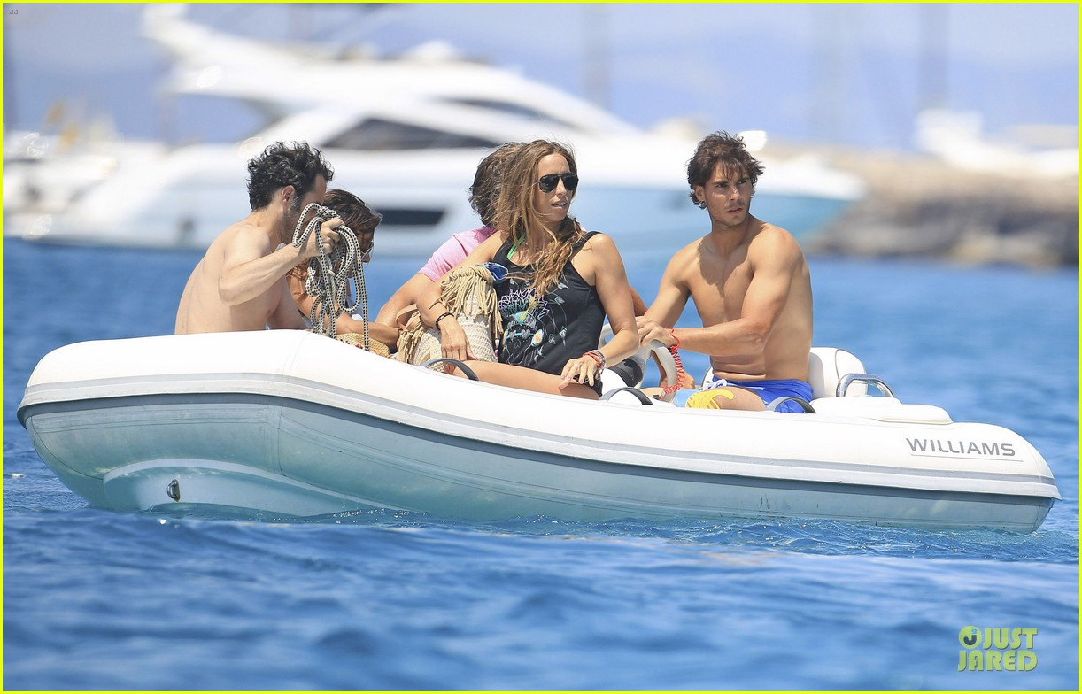 rafael nadal shirtless ibiza vacation with maria francisca perello 33