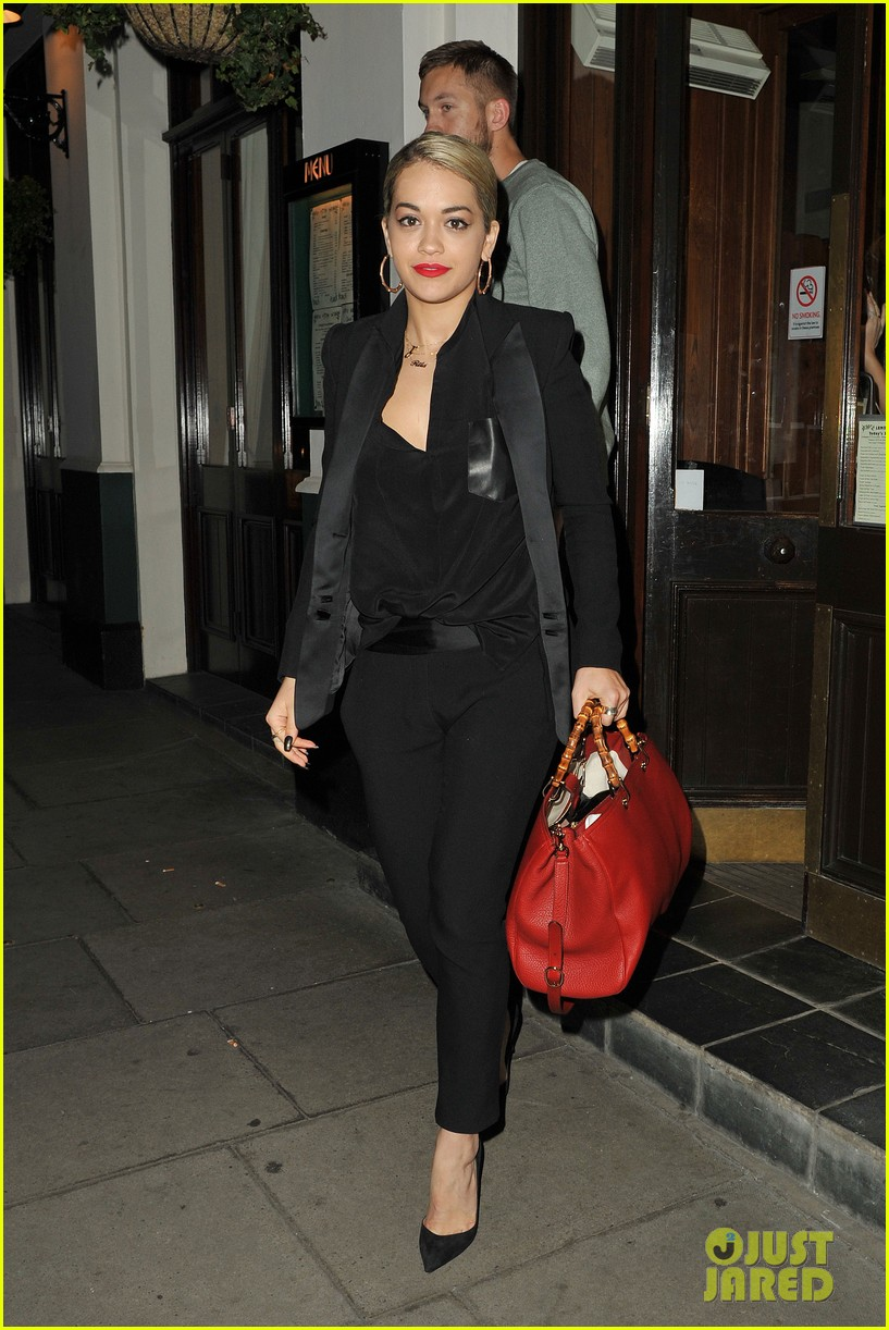 rita ora calvin harris dinner with ellie goulding 022885743