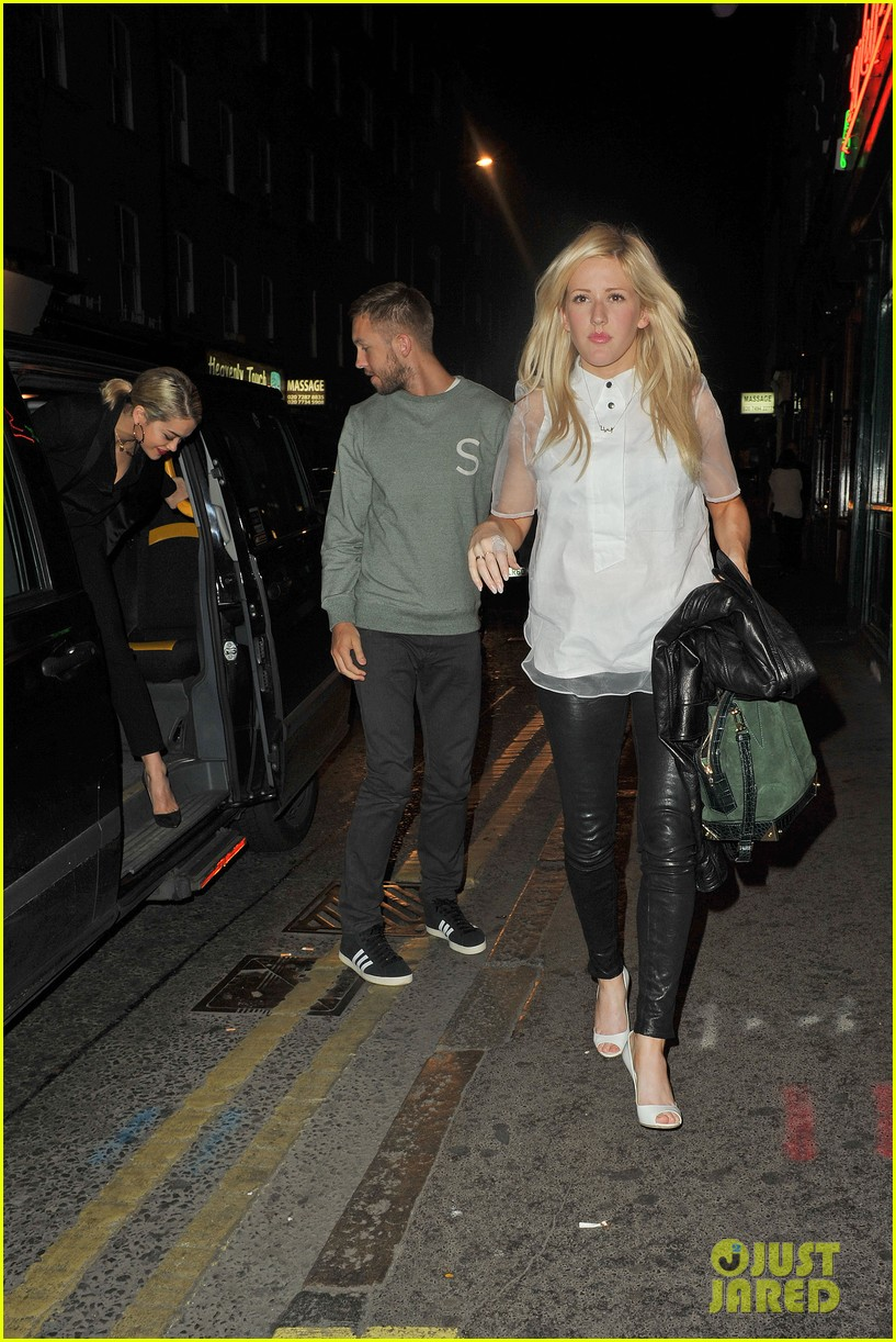 rita ora calvin harris dinner with ellie goulding 042885745