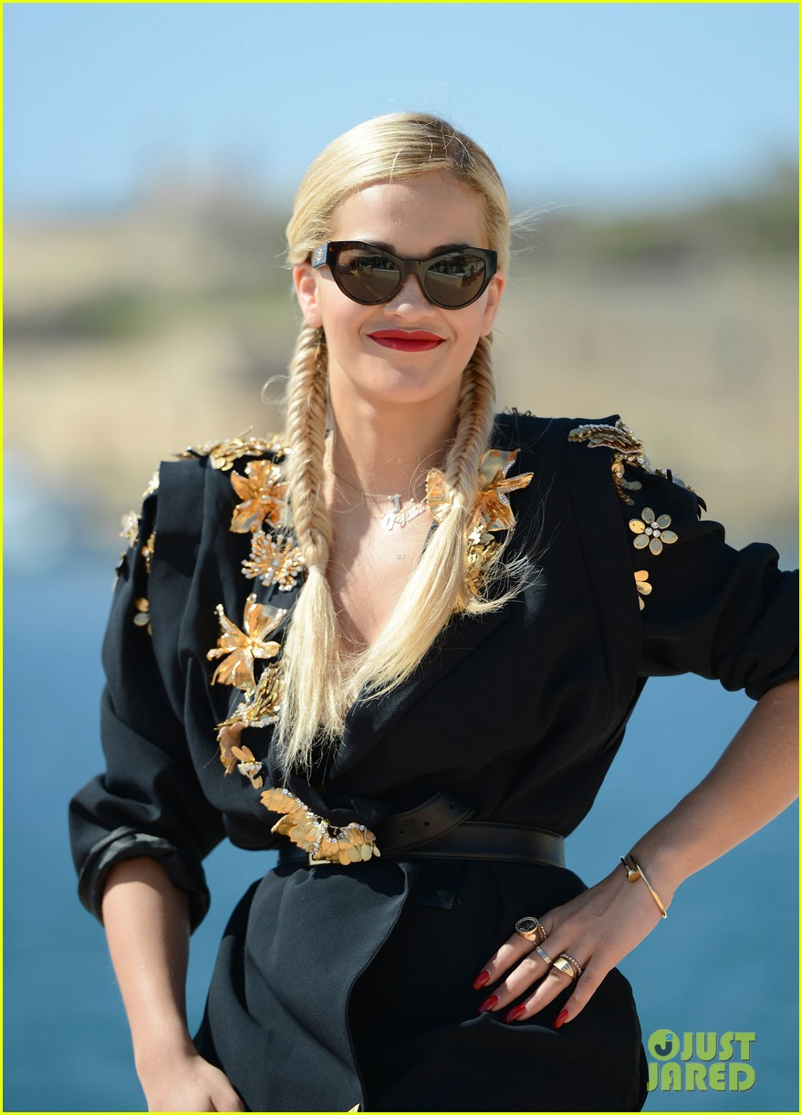 rita ora jessie j isle of malta press conference 022898833