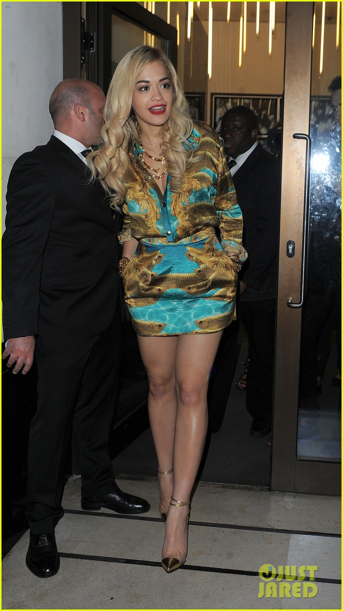 rita ora sony xperia access launch party 05