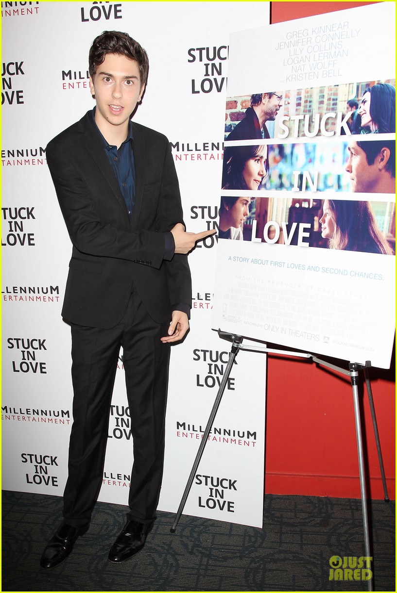 patrick schwarzenegger stuck in love nyc screening 082899104