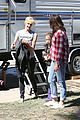 katy perry parks recreation set with amy poehler laura dern 16