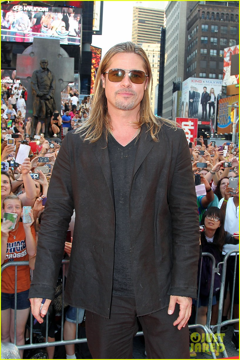 brad pitt world war z new york premiere 11