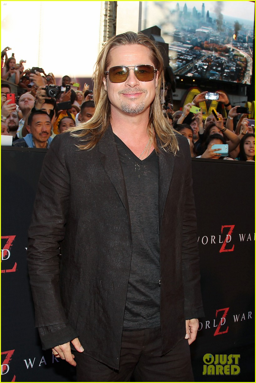 brad pitt world war z new york premiere 20