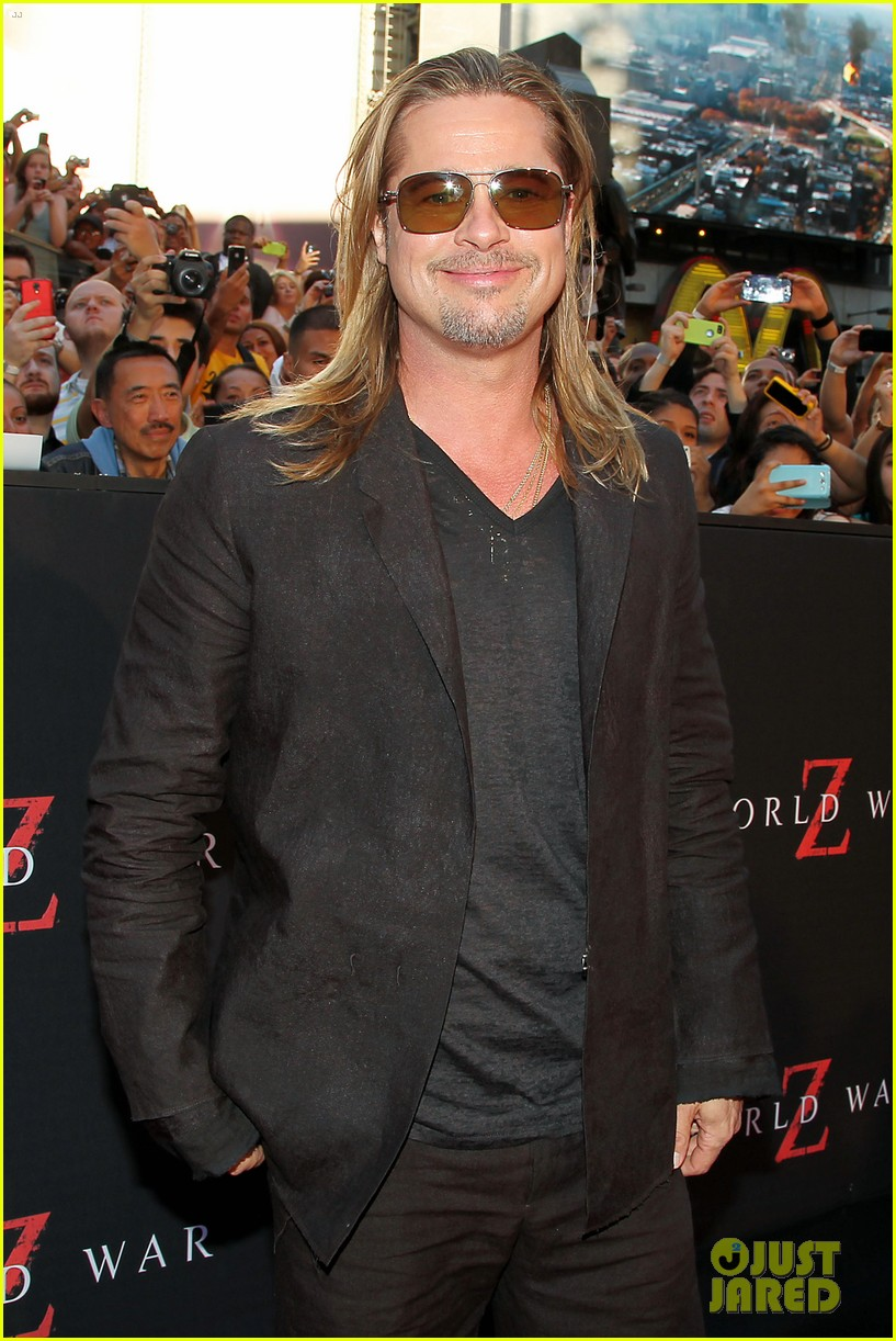 brad pitt world war z new york premiere 22