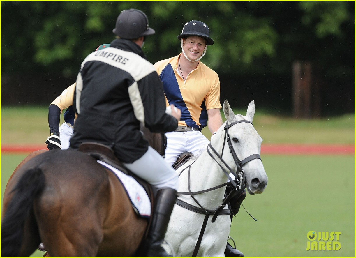 prince william harry international audi polo game 12