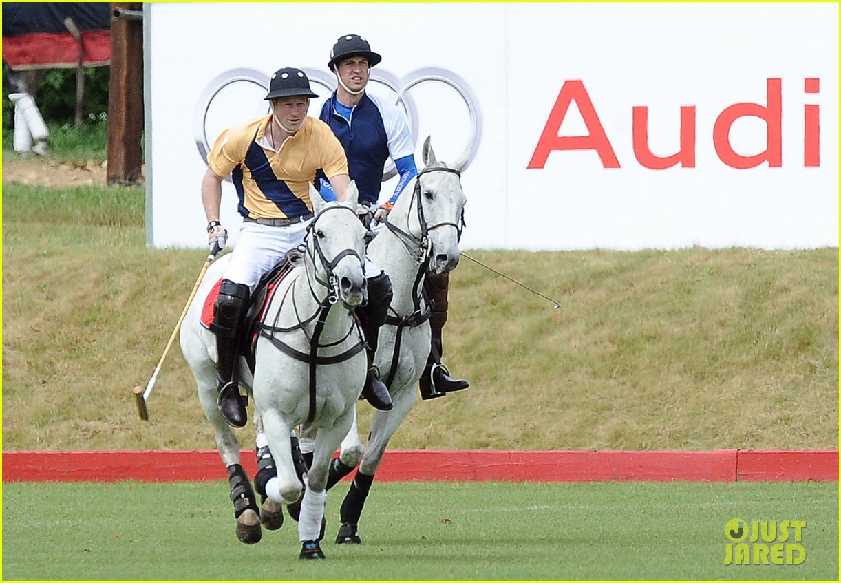 prince william harry international audi polo game 192892319