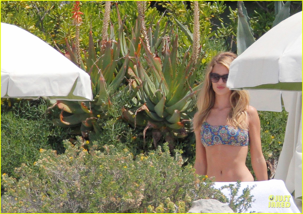rosie huntington whiteley jason statham viva la madness bikini reading 02